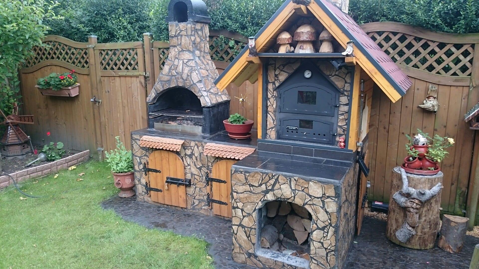 Outdoorküche Mit Holzbackofen : Die ofenschmiede holzbacköfen kaminöfen grills
