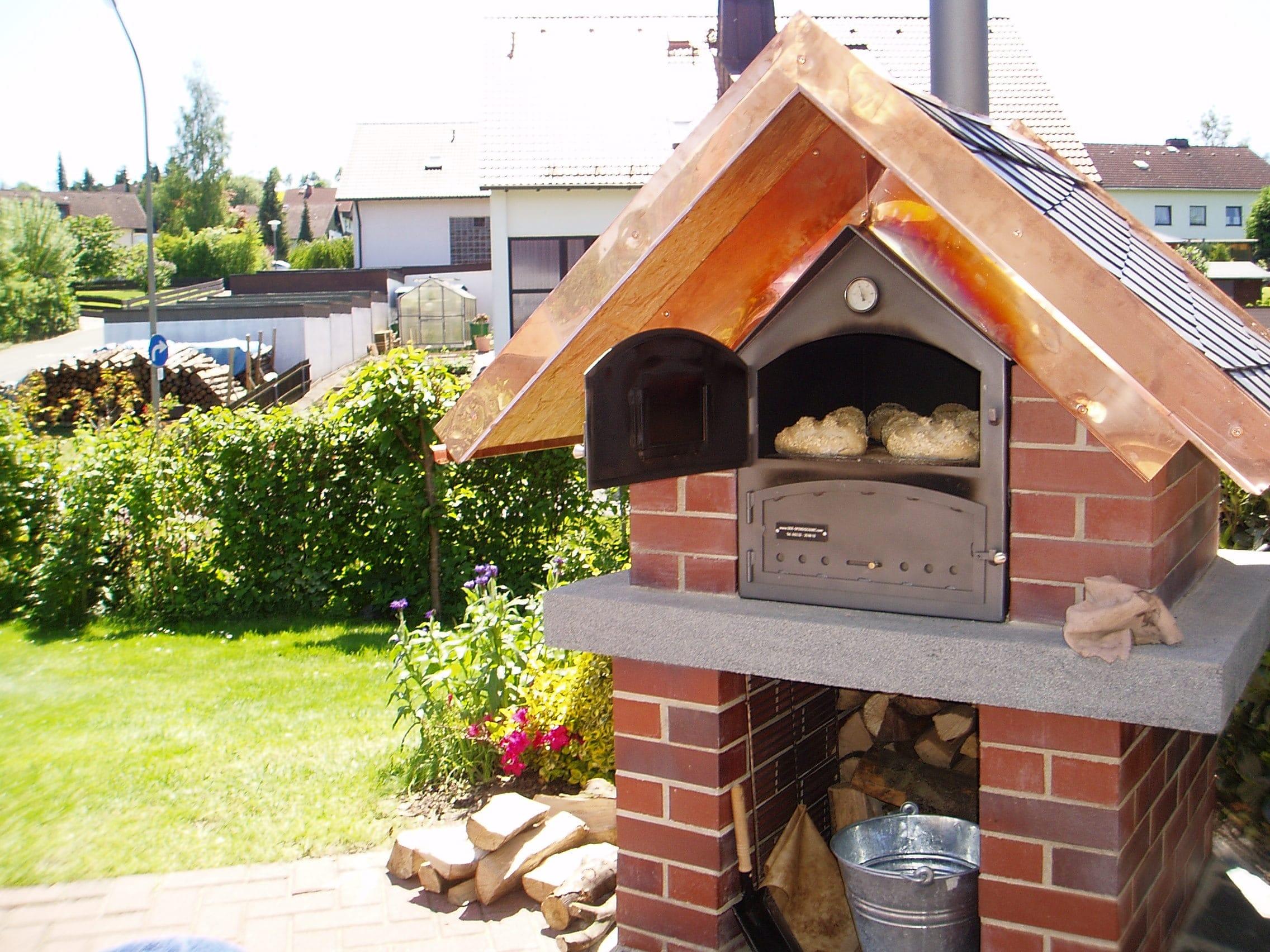 Außenküche Mit Holzbackofen : Bau meiner grill und bbq außenküche gartenküche teil