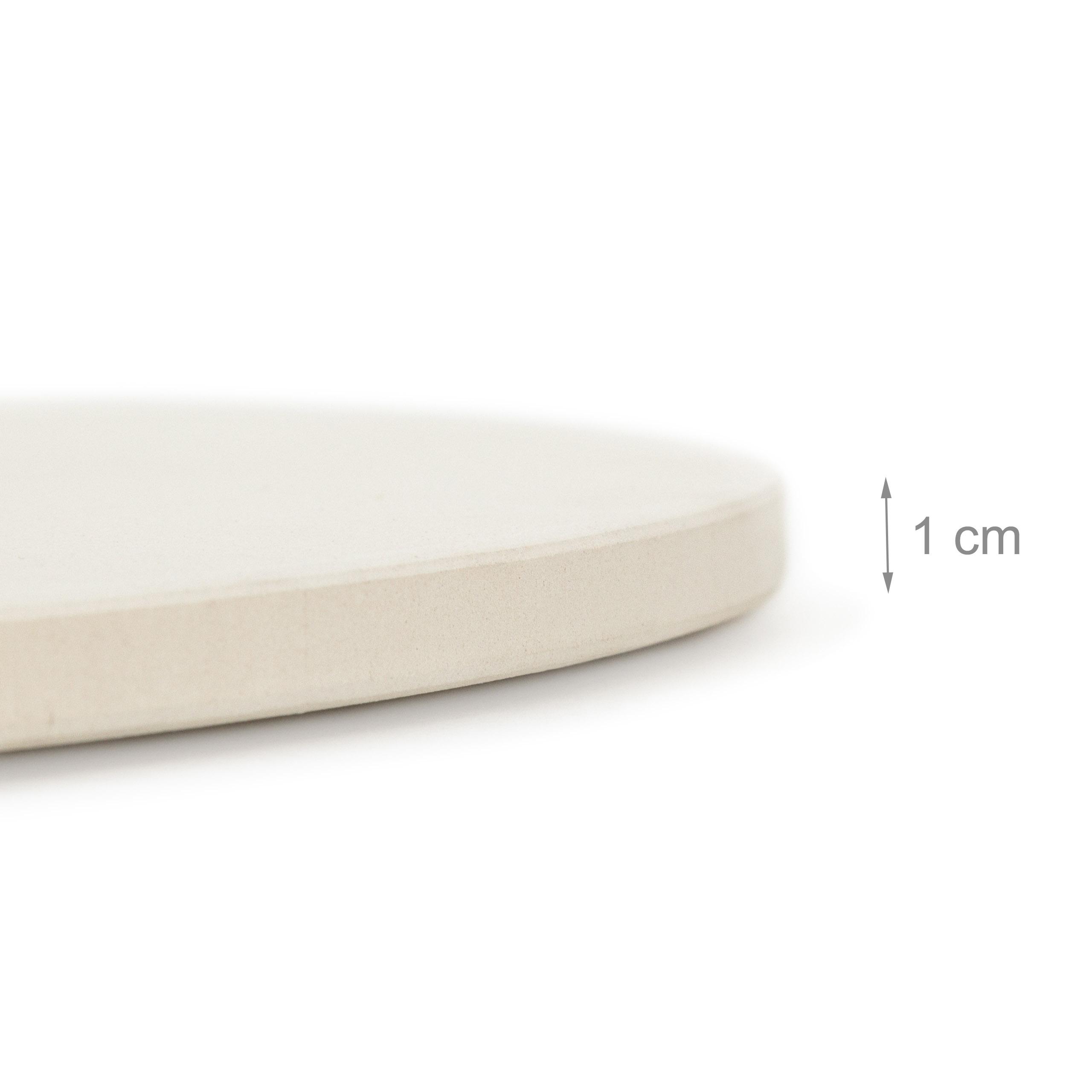 pizzasteine pizzastein 33cm mit halter. Black Bedroom Furniture Sets. Home Design Ideas